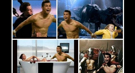 Eight of the best: Topless Ronaldo memes