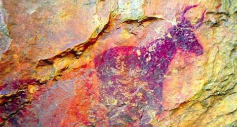 7,000-year-old cave paintings found in Spain