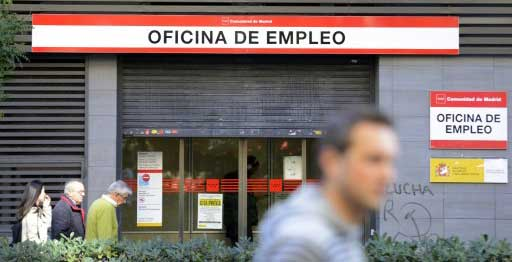 500,000 Spaniards have given up job hunt