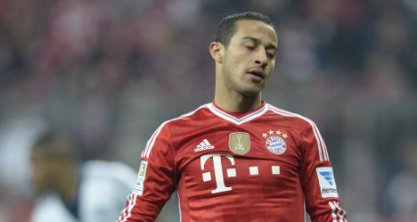 Injured Thiago out of Spain's World Cup squad