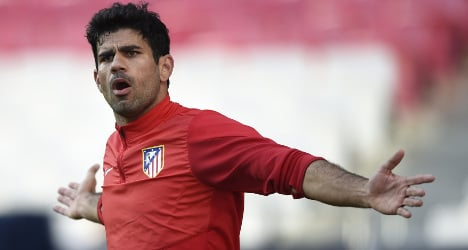 Spain names Costa in 23-man World Cup squad