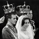 1962: Prince Juan Carlos of Spain marries princess Sofía of Greece in Athens. Franco allowed the newly weds to move to Madrid soon after.Photo: AFP