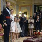Felipe gives 'the King's speech' at the Congress of Deputies. Photo: Dani Pozo/AFP