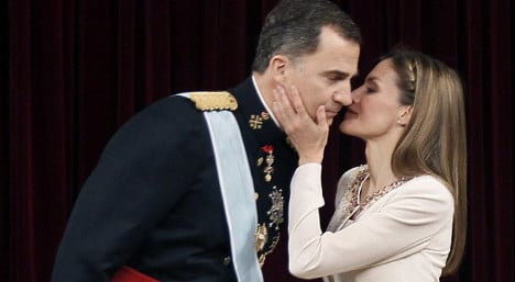 Queen for life: Letizia can't divorce King