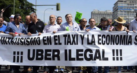 Uber chaos: Spain calls for EU to find answers