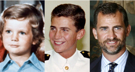 Prince Felipe of Spain: his life in pictures