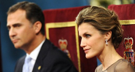 Spain's new queen gives up indie rock for throne