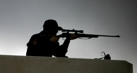 Protesters beware: 120 snipers to guard king