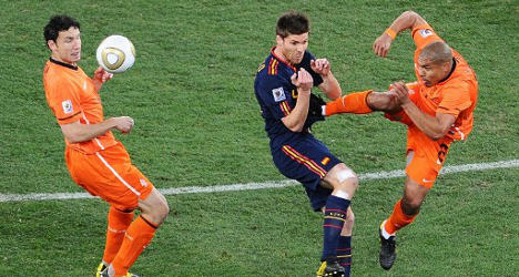 Kick-off: Spain's first game a grudge match