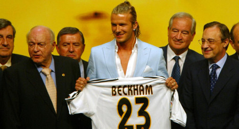 'Beckham tax law' booted out of Spain
