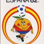 UNFRUITFUL: This chirpy orange is Naranjito, the mascot of España 82, the only World Cup held in Spain thus far. He's pretty much all that Spaniards remember about the tournament after their team was squeezed out by Germany and England in the second round. Photo: YouTube