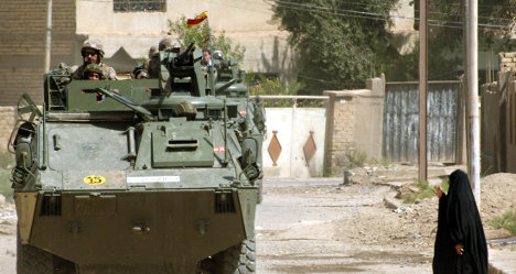 Spanish soldier jailed on Iraq torture charges