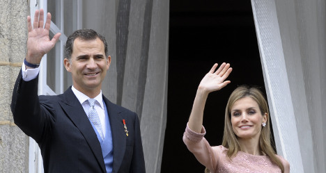 Spain's new king opens royal account books