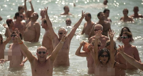 Spanish naturist paradise bans nudity by mistake
