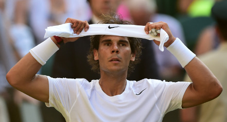 Nadal bundled out of Wimbledon by wildcard