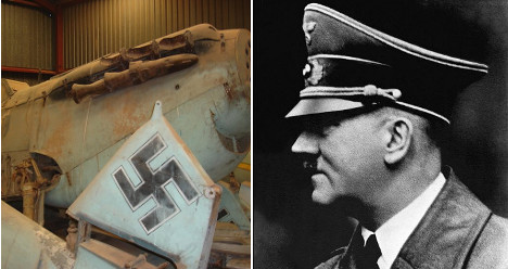 Hitler's Spanish fighter planes go on sale in US