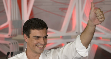 Spain's Socialists pin hopes on new leader