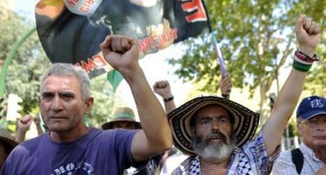 'We're going to occupy Gibraltar': radical union