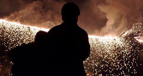 Out-of-control firework injures 24 in Spain