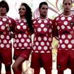 ENGLISH ORIGINS: The oldest club in Spain is Recreativo de Huelva (pictured here in their controversial 2012 away kit), currently playing in the second division. The team was founded in 1889 by the English doctor William Alexander Mackay and British workers and engineers at the Rio Tinto mining company in Andalusia. The first official game, meanwhile, was played in Seville in 1890, with almost all of the players on the ground being Brits.Photo: Screen grab: YouTube