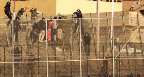 Photojournalists fined at Spain's African border
