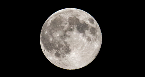 In pictures: Summer supermoon wows Spain