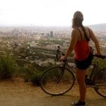 Barcelona: Get a bird's eye view of Catalonia's capital when taking this 9km (5.5 mile) dirt track through Collsera Natural Park. It's known to get very busy at weekends so try to make it there a bit early to have the route to yourself.Photo: Patricil Complex/Flickr