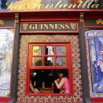 SPENDING YOUR WHOLE HOLIDAY IN AN IRISH PUB: Spain: land of culture, cuisine, history, romance... and Irish theme pubs.  You don't have to spend every waking moment visiting museums and churches but spending your holidays eating pie and chips in the nearest place with a Guinness sign while watching Sky TV all day seems a wasted opportunity. Get out and enjoy a taste of the real Spain instead.Photo: Charles Roffey/Flickr