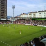 DAVID VERSUS GOLIATH:  Barcelona's Nou Camp (or 'new ground') holds 99,000 people, making it the fifth biggest association ground in the world. The home ground of this year's top flight debutant, Eibar, on the other hand fits less than 6,000 people. Things could get a little squishy.Photo: Eneko Astigarraga/Flickr