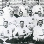 THE ALL-WHITES: The 'merengues', as Real Madrid are colloquially known, are the most famous football team in the world to play all in white. There are two theories as to how the team's founders came to choose the colour: 1) They were influenced by London side Corinthian F.C., one of the best clubs at the start of the 1900s. 2) Players would remove their clothes and play in their white underwear. As Real were the oldest team in the capital, they were the only ones who didn't have to wear a different colour sash to distinguish them. Photo: Fma12/Flickr