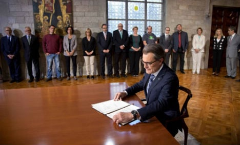 Government: Catalan vote won't take place