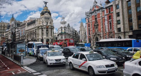 Madrid fights traffic jams with city centre car ban