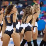 Commentator canned for sexist cheerleader gaffe