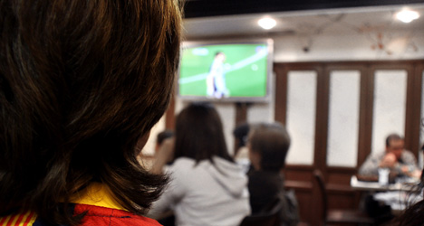 Sports-crazy Spaniards are Europe's top viewers