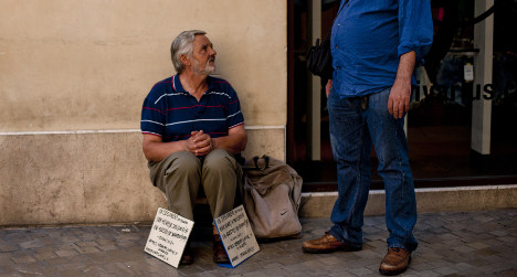 Hard-hit Spaniards more generous than ever
