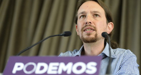 Spain's 'indignant' party closing in on PSOE: poll