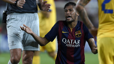 Case against Barca chief over Neymar dropped
