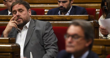 'We want independence in Catalonia this year'