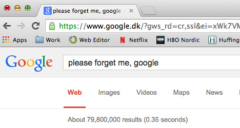 13,429 Spaniards ask to be 'forgotten' by Google