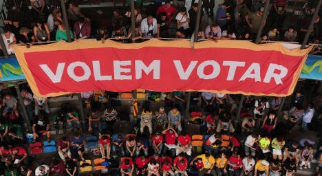 Only 2 in 10 Catalans back 'illegal' vote: poll
