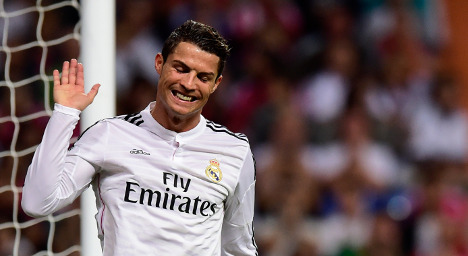 Real's Ronaldo hits 3rd hat-trick in five games