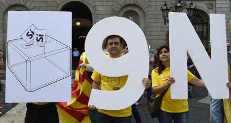 Expats given vote in poll on Catalan self-rule
