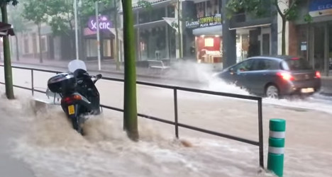 Flash floods: woman dies in Canary Islands