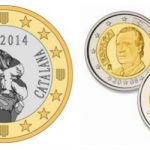 CURRENCY: Catalonia faces several options here. It could take on a new currency, revert to the peseta, originally derived from the Catalan peça anyway, or sign an accord with the EU which will let them stick with the Euro — the preferred option of the Catalan government's National Transition Advisory Council. If they do keep the Euro, these shiny Euro coins made in China in 2013 might do the trick (although it's unlikely the real coins would feature an image of Spain's former King Juan Carlos on the back).    Photo: monedesrepublica