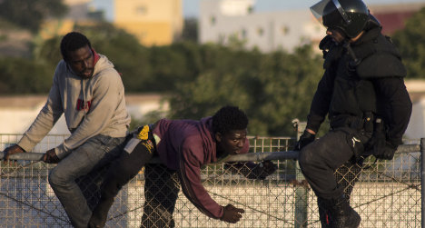 Don't hurt migrants: Spain to border police