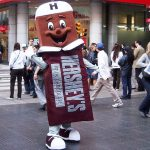 Hershey's chocolate bar. Because what the heck do Europeans know about chocolate, right?Photo: Guillermo Tomoyose