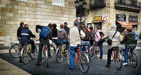 Barcelona eyes fines for drivers who bully cyclists