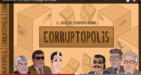 Boardgame cashes in on Spain's corruption crisis