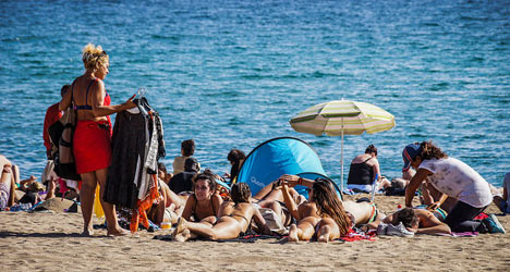 October in Barcelona: the hottest in 100 years