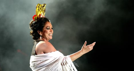 Spain's favourite singer finally behind bars